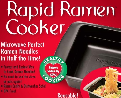 1 Pk Red Rapid Ramen Cooker